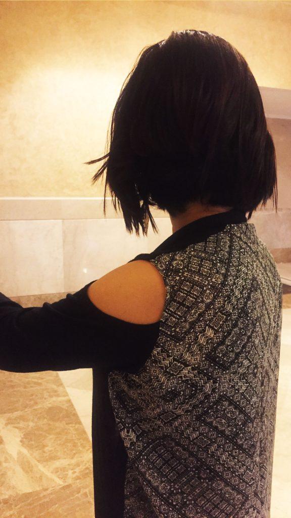 Long Cold Shoulder Shrug